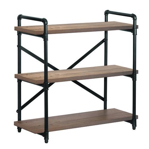 Dakota™ 3-Shelf Black Frame Pipe Bookshelf at Menards®