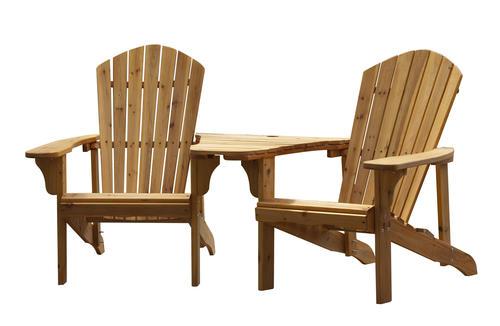 Good Backyard Creations® Adirondack Tete A Tete Patio Chair At Menards®