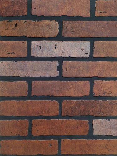 DPI™ Earth Stones 4 x 8 Gaslight II Red Brick Hardboard Wall