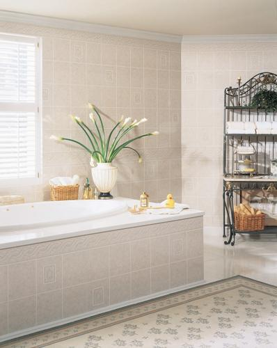 DPI™ AquaTile 4 x 8 Alicante Tileboard Wall Panel at Menards®