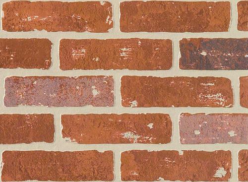 DPI™ Earth Stones 4u0027 x 8u0027 Carriage House Brick Hardboard Wall Panel at  Menards®