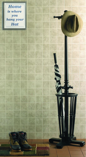 DPI AquaTile X Taupe Stone Bath Tileboard Wall Panel At Menards - Aquatile wall panels