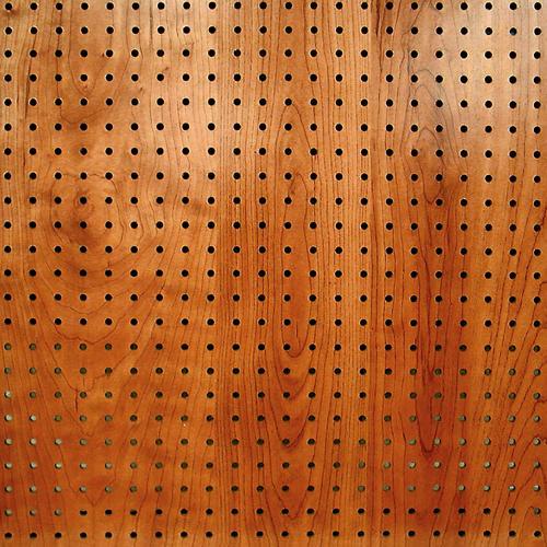 DPI PegPanels 4 x 8 Windsor Cherry Hardboard Pegboard Wall