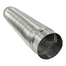 Deflecto 174 4 Quot X 2 Semi Rigid Flexible Aluminum Duct At