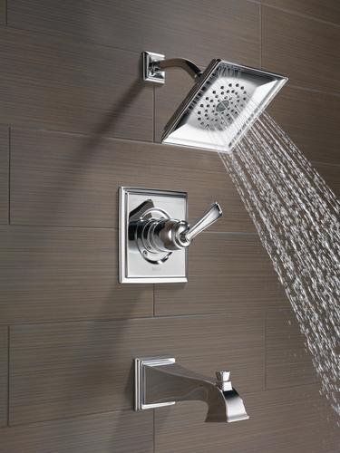 Delta 174 Lakewood One Handle 1 Spray Tub And Shower Faucet