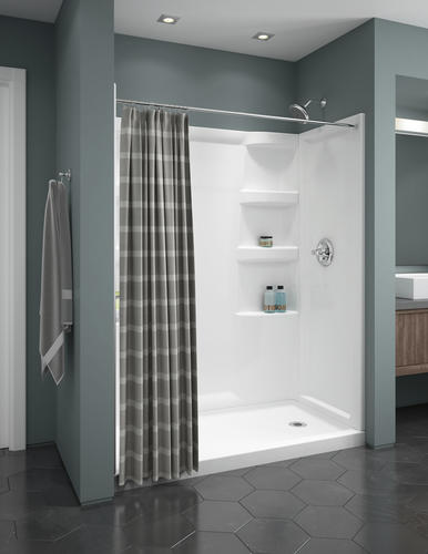 Delta 174 Porter 174 3 Spray One Handle Tub And Shower Faucet At