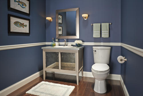 Delta 174 Nyla One Handle Open Channel Bathroom Faucet In