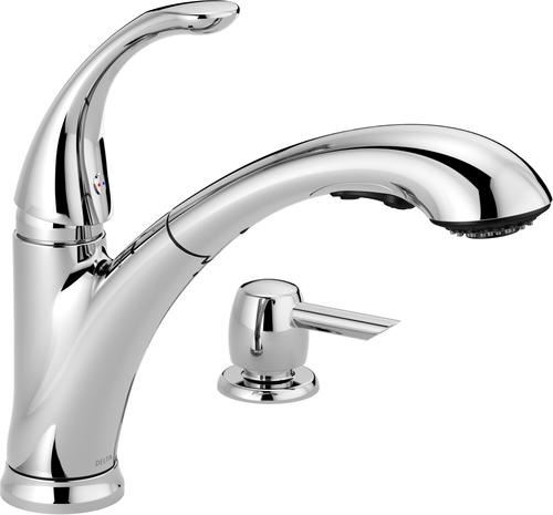 Delta® Pixa™ One-Handle Pull-Out Kitchen Faucet At Menards®