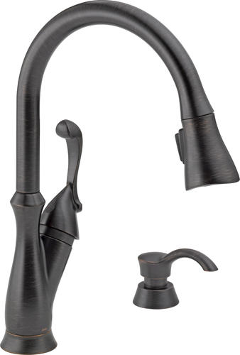 Delta® Arabella™ One-Handle Pull-Down Kitchen Faucet at Menards®