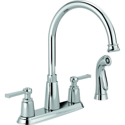 Menards Delta Kitchen Faucets.Delta Emmett Two Handle Kitchen Faucet At Menards