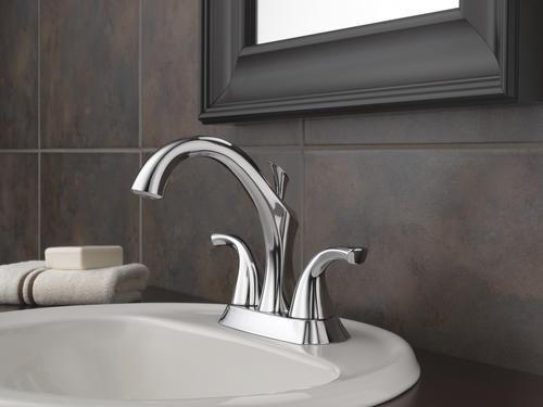 "Delta Porter 4 In Centerset 2 Handle Bathroom Faucet With: Delta® Addison™ Two-Handle 4"" Centerset Bathroom Faucet At"