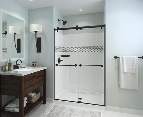 "Delta Porter 4 In Centerset 2 Handle Bathroom Faucet With: Delta® Porter® Two-Handle 4"" Centerset Bathroom Faucet At"