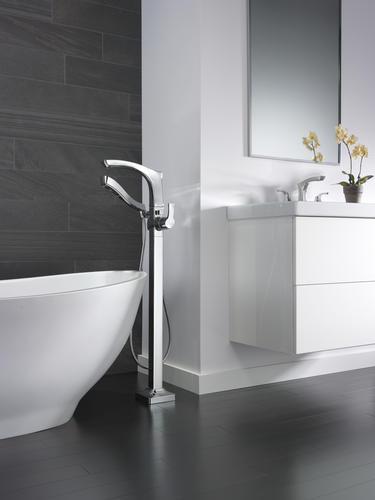 """Delta® Tesla® Two-Handle 8"""" Widespread Bathroom Faucet ..."""