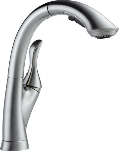 Delta 174 Linden One Handle Pull Out Kitchen Faucet At Menards 174