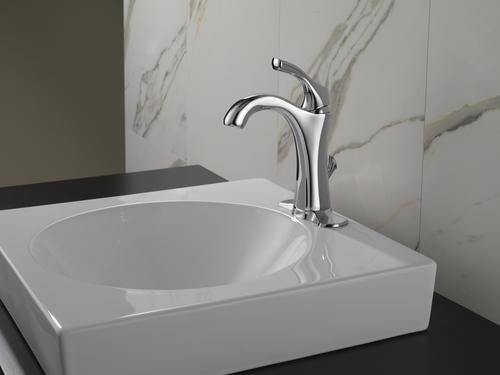 One Handle Bathroom Faucet In Chrome At