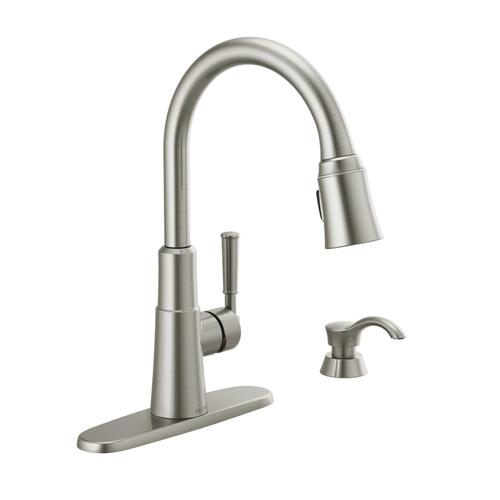 Delta Valo One Handle Pull Down Kitchen Faucet At Menards