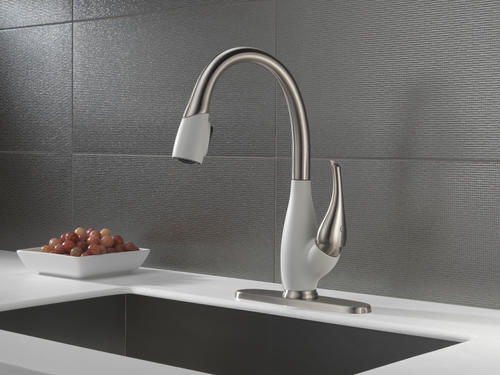 Delta Fuse One Handle Pull Down Kitchen Faucet At Menards
