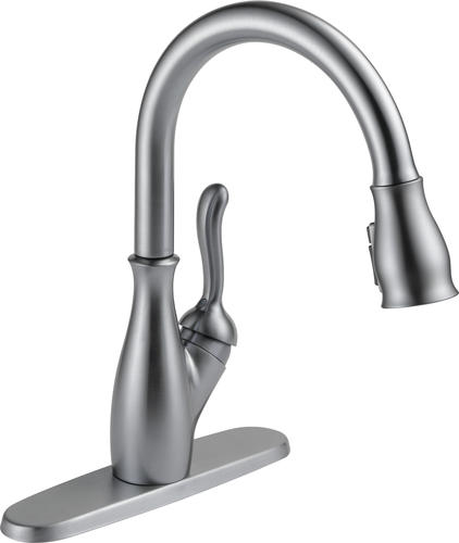 Delta® Leland® One-Handle Pull-Down Kitchen Faucet at Menards®
