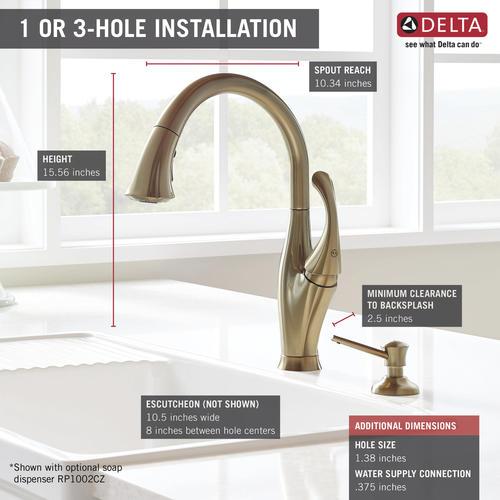 Enjoyable Delta Addison One Handle Pull Down Kitchen Faucet At Menards Download Free Architecture Designs Embacsunscenecom