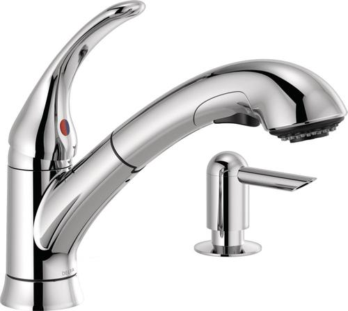 Moen Anabelle Spot Resist Stainless 1 Handle Pull Down Kitchen lowes.com Kitchen Faucets & Water Dispensers Kitchen Faucets