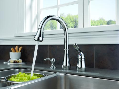 Peerless® Apex One-Handle Pull-Down Kitchen Faucet At Menards®