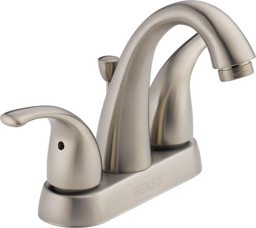 "Peerless® Apex Two-Handle 4"" Centerset Bathroom Faucet"