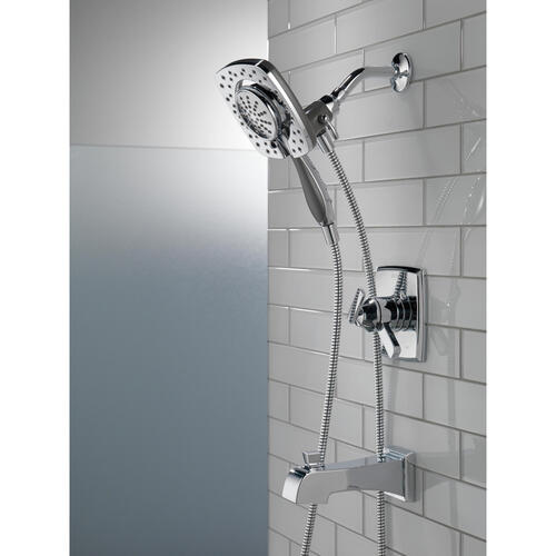 Delta Faucets T17464-I Tub /& Shower Trim and Delta MultiChoice Rough with Stops
