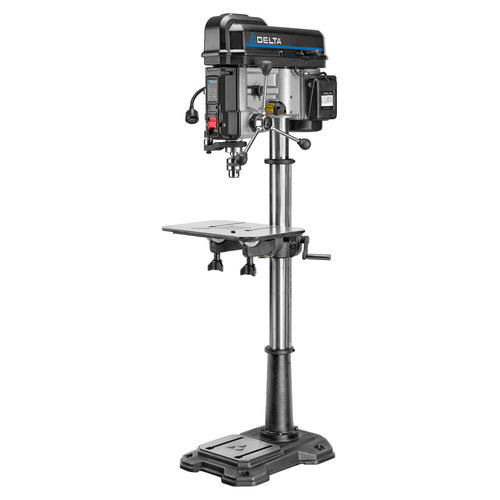 Drill Press Guard >> Delta 18 16 Speed Drill Press With Laser At Menards