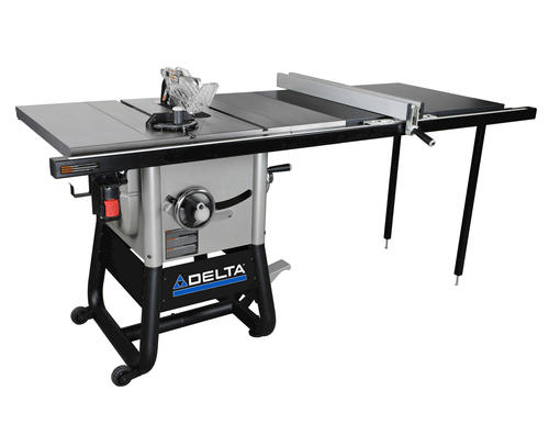 Delta 10 Contractor Table Saw With 52 Right Rip And Cast