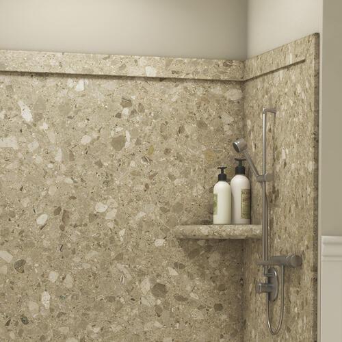 Flexstone 60 Quot X 60 Quot Adaptable Shower Wall Surround At Menards 174