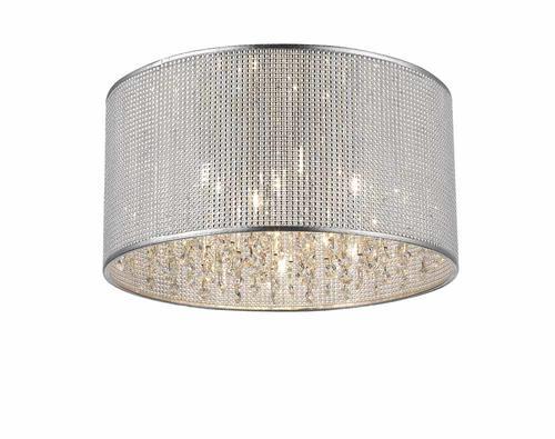 Patriot Lighting Elegant Home Cidy 5 Light Flush Mount