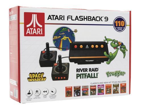 atari flashback 9  Atari Flashback® 9 Classic Game Console at Menards®