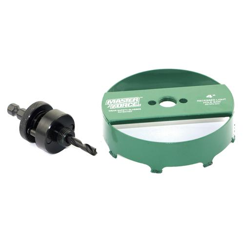 Masterforce Recessed Light Hole Saw With 3 8 Arbor At Menards