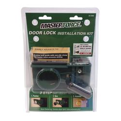 Masterforce 174 Door Lock Installation Kit At Menards 174