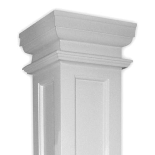 Dixie Pacific Duralite Recessed Panel Square Fibergl Column
