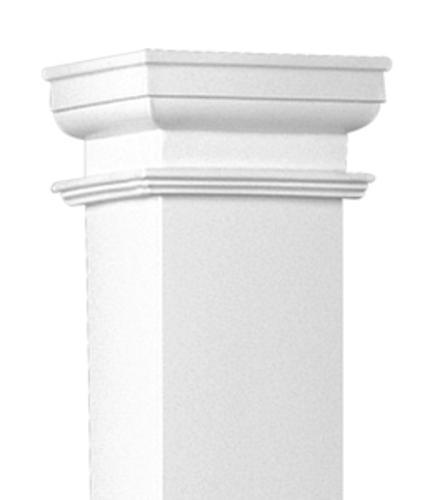 Dixie Pacific Duracast Plain Square Fibergl Column At Menards