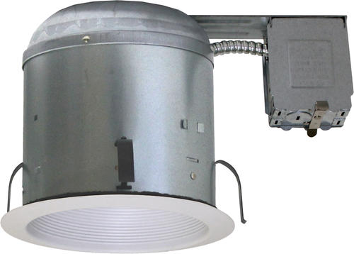 Patriot Lighting 6 Remodel Ic Recessed Housing With White Baffle 4 Pack At Menards