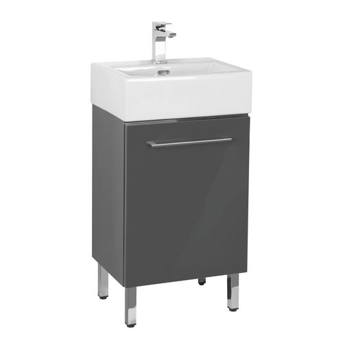 Dolphin Plumbing 18 W X 14 D Florence Vanity And White Vanity Top
