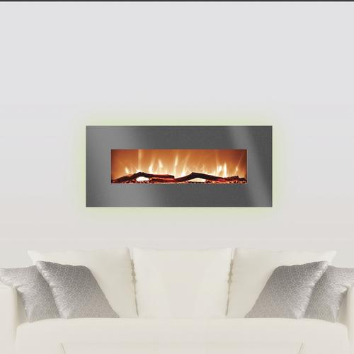 Miraculous Grand Aspirations 34 Harrison Flat Linear Fireplace In Home Interior And Landscaping Ponolsignezvosmurscom