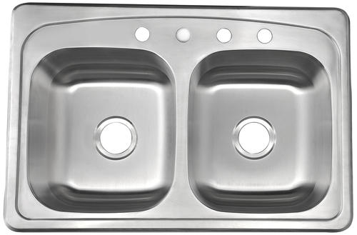 Tuscany Meryl All In One Top Mount 33 Stainless Steel 4