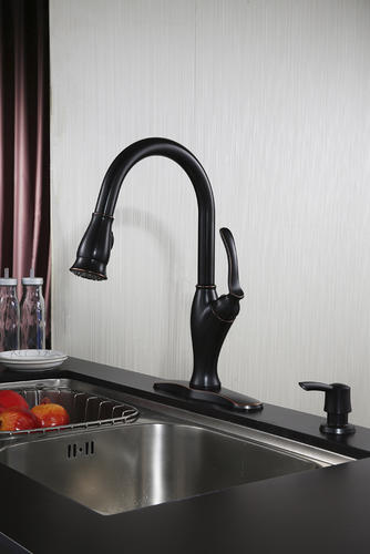 Tuscany Jensen One Handle Pull Down Kitchen Faucet At Menards