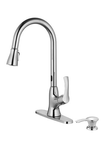 Tuscany® Altamont Touchless Sensor Pull-Down Kitchen Faucet ...