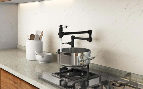 Tuscany™ Winterset Two-Handle Pot Filler Faucet at Menards®