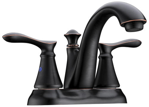 "Tuscany® Marianna™ Two-Handle 4"" Centerset Bathroom Faucet Oil-Rubbed Bronze"