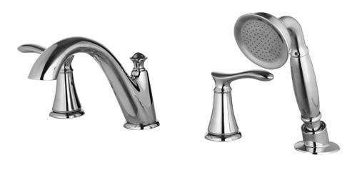 Tuscany® Marianna™ Two Handle 1 Spray Roman Bathtub Faucet with