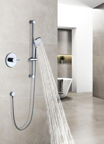 Tuscany Forden One Handle 3 Spray Shower With Slide Bar And