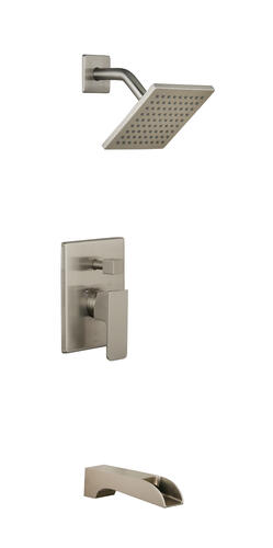 Tuscany Free Fall Single Handle Tub And Shower Bathroom Faucet At