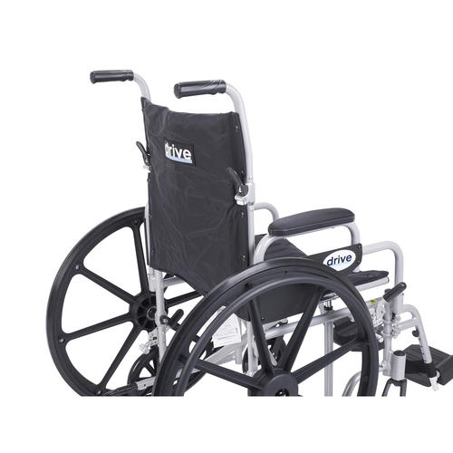 Drive Medical Poly Fly Lightweight Transport Chair