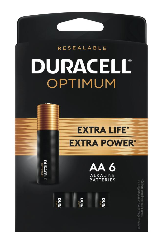 Duracell Optimum Aa Batteries At Menards
