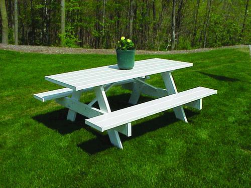 dura-trel 8' patio picnic table at menards®